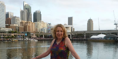 Mary at Darling Harbour
